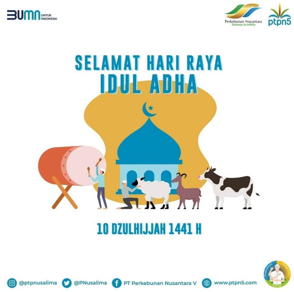 Selamat Hari Raya Idul Adha 1441 H Pt Perkebunan Nusantara V