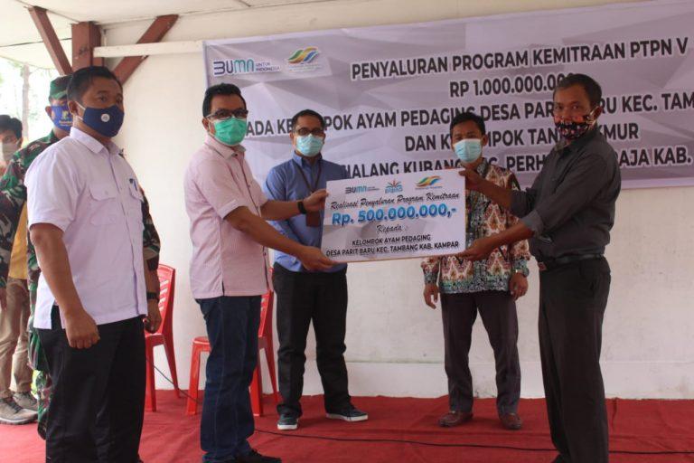 PTPN V Guyur Rp500 Juta Desa Lumbung Ayam Pedaging Riau ...